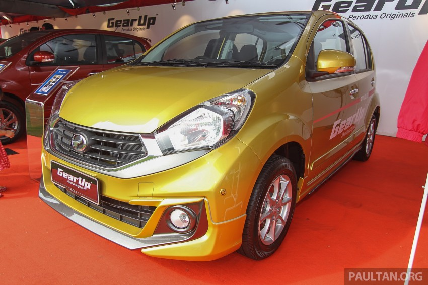 Perodua Myvi GearUp accessories – details and prices Image #342390
