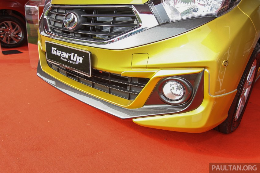 Perodua Myvi GearUp accessories – details and prices Image #342391