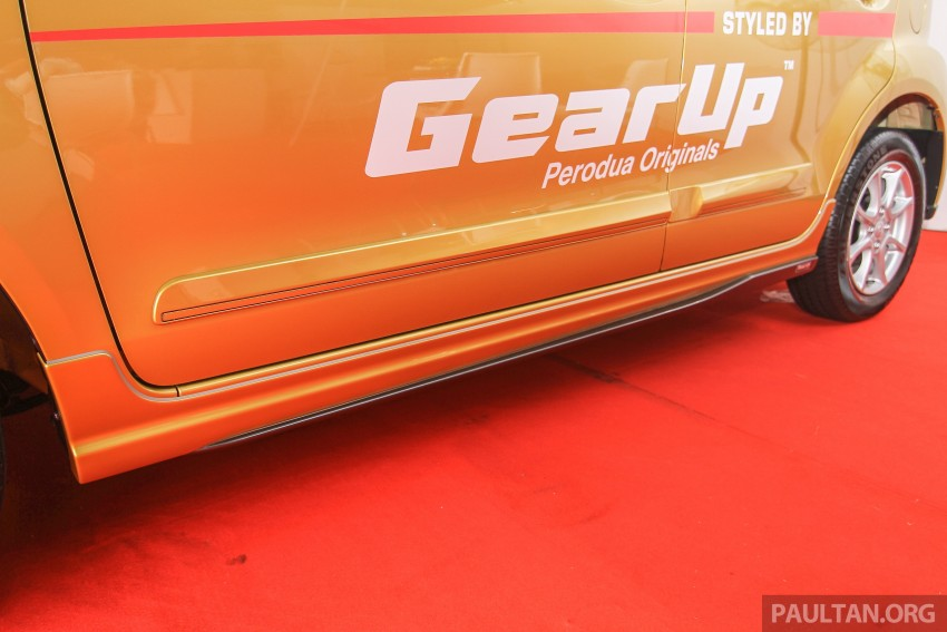Perodua Myvi GearUp accessories – details and prices Image #342392