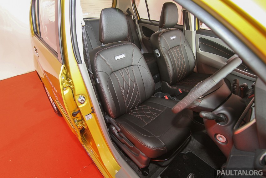 Perodua Myvi GearUp accessories – details and prices Image #342394