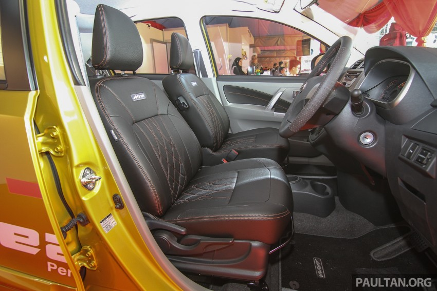 Perodua Myvi GearUp accessories – details and prices Image #342395