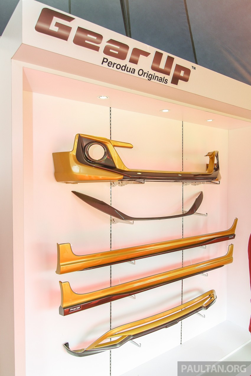 Perodua Myvi GearUp accessories – details and prices Image #342399
