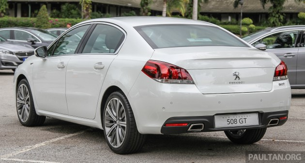 peugeot 508 facelift launched in malaysia fr rm175k. Black Bedroom Furniture Sets. Home Design Ideas