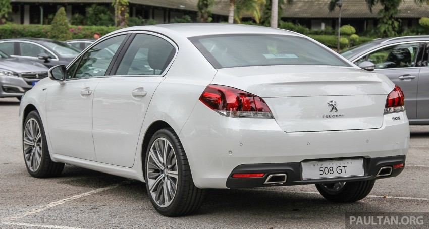 Peugeot 508 facelift launched in Malaysia – fr RM175k Image #344036