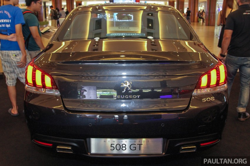 Peugeot 508 GT facelift previewed – RM205k estimated Image #338545