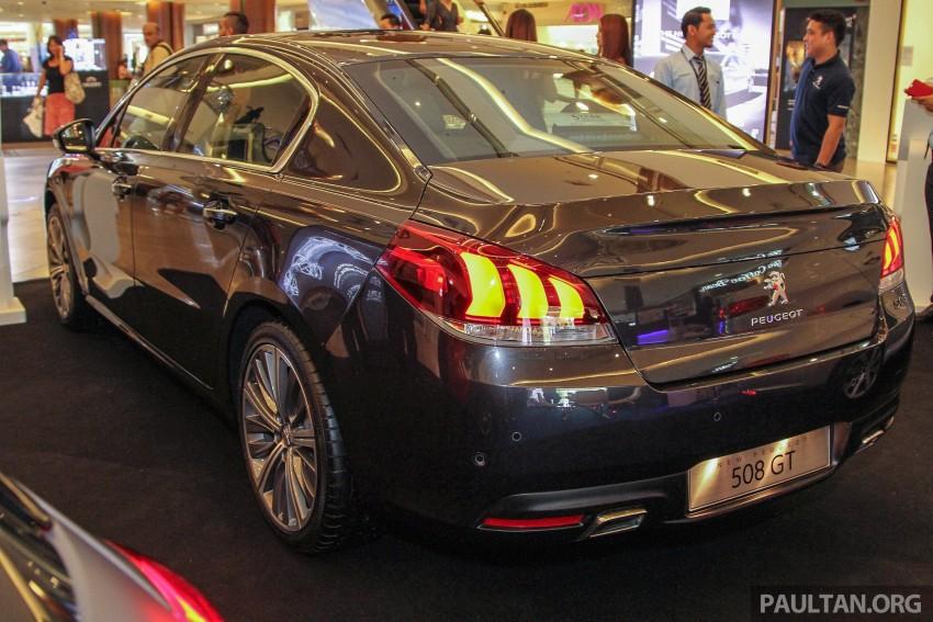 Peugeot 508 GT facelift previewed – RM205k estimated Image #338546