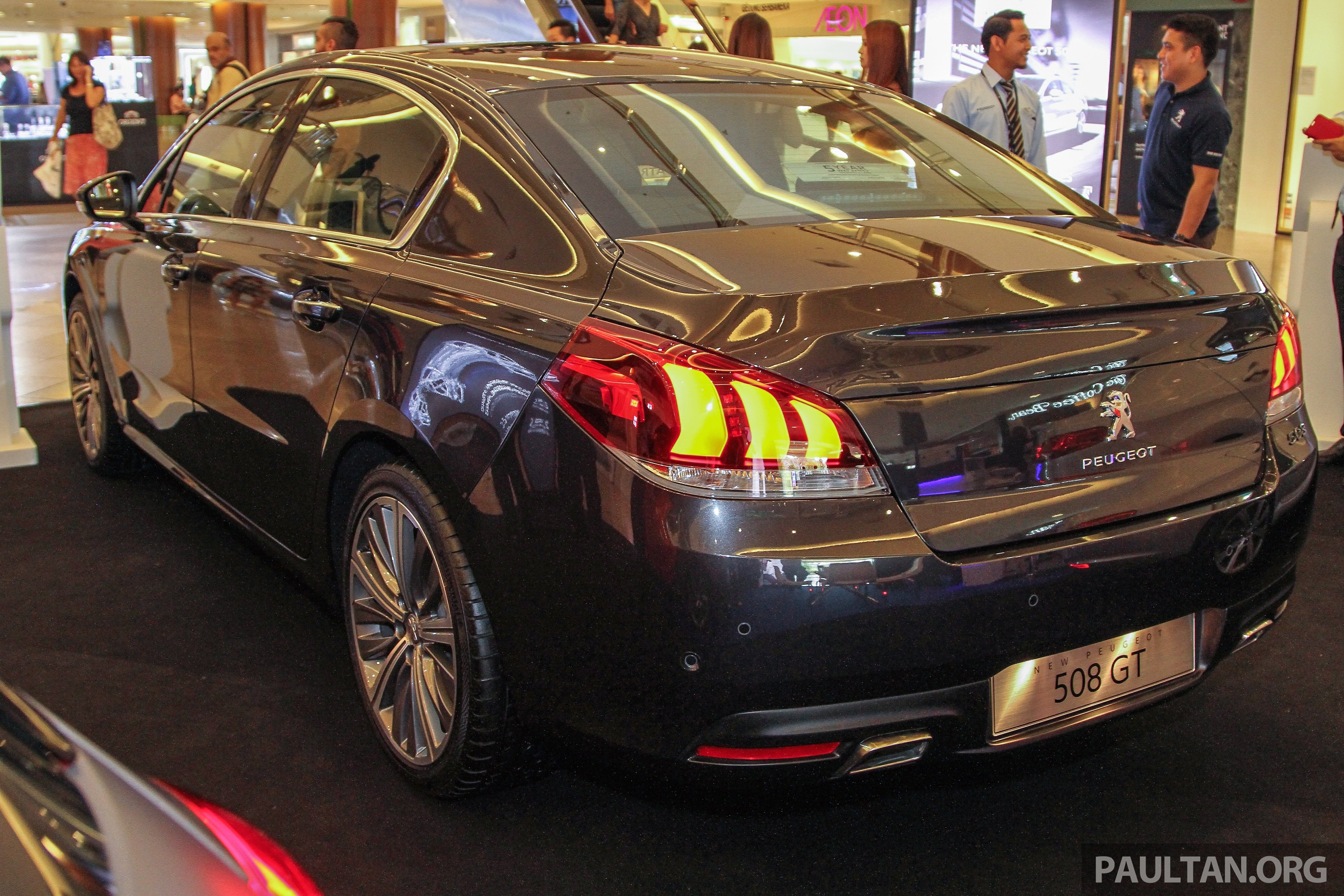 peugeot 508 gt facelift previewed rm205k estimated paul tan image 338546. Black Bedroom Furniture Sets. Home Design Ideas