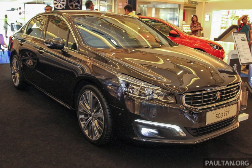 Peugeot 508 GT facelift previewed – RM205k estimated Image #338528