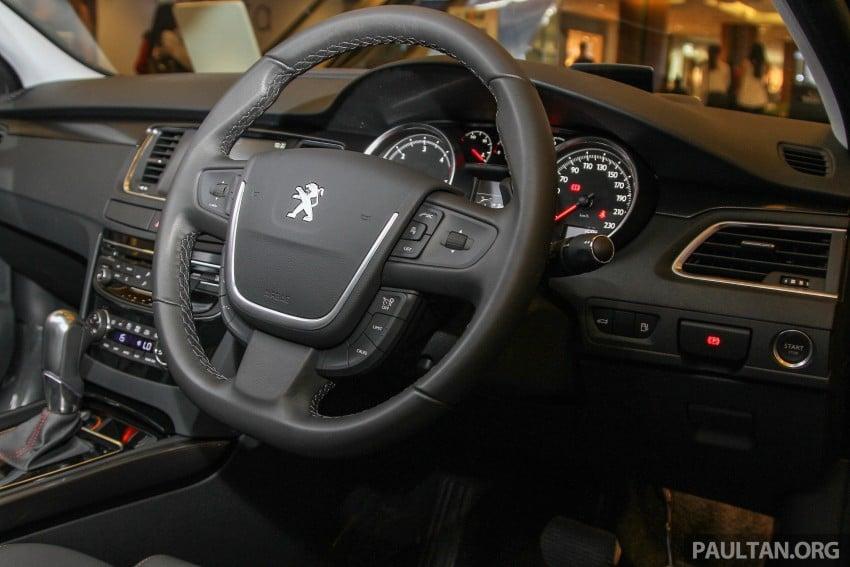 Peugeot 508 GT facelift previewed – RM205k estimated Image #338566