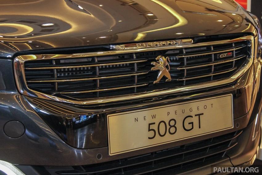 Peugeot 508 GT facelift previewed – RM205k estimated Image #338531