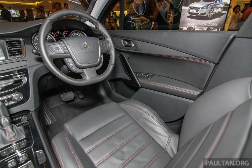 Peugeot 508 GT facelift previewed – RM205k estimated Image #338573