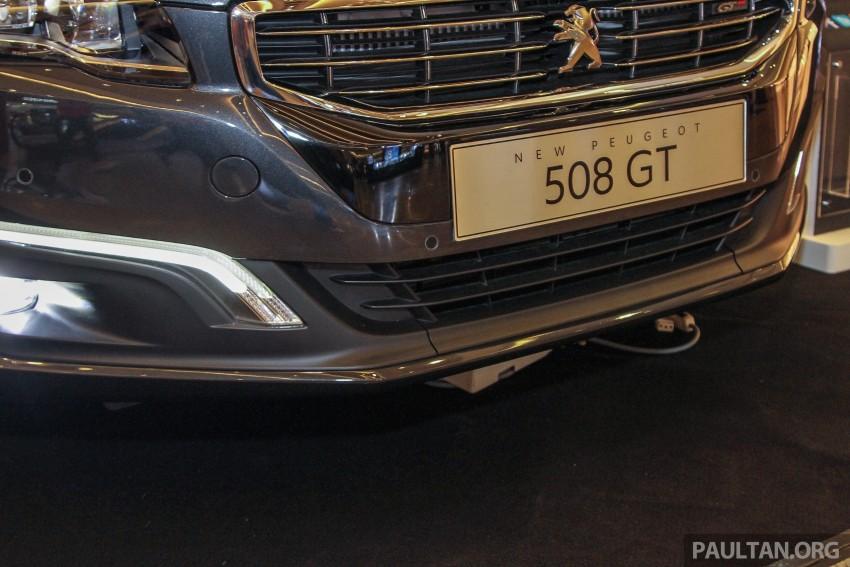 Peugeot 508 GT facelift previewed – RM205k estimated Image #338532