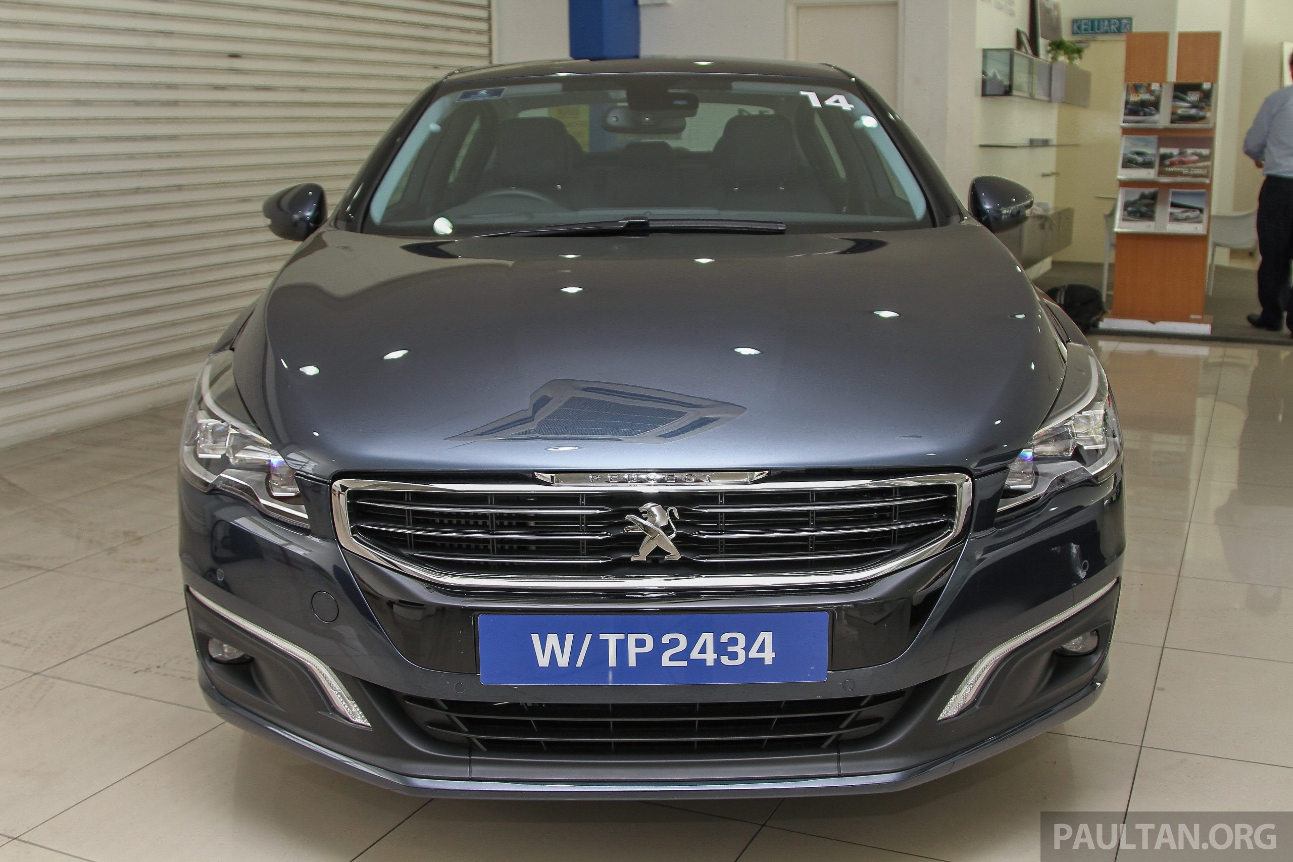gallery peugeot 508 thp facelift in showrooms paul tan image 339645. Black Bedroom Furniture Sets. Home Design Ideas