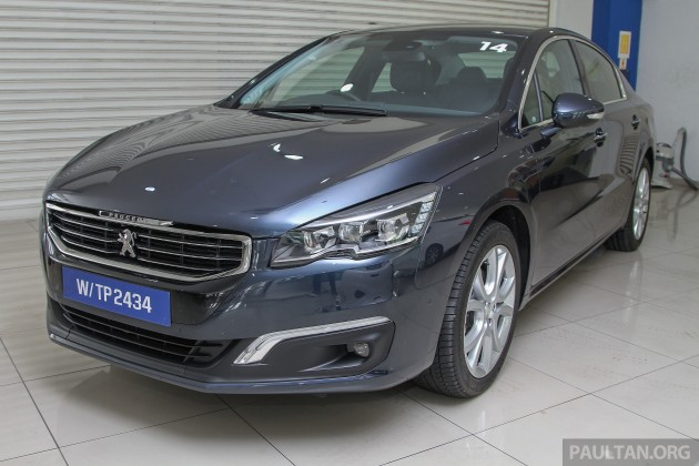 gallery peugeot 508 thp facelift in showrooms. Black Bedroom Furniture Sets. Home Design Ideas
