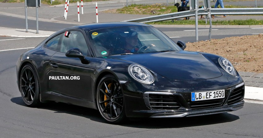 Upcoming Porsche 911 facelift to drop Carrera's naturally-aspirated flat-six for turbo power – reports Image #344343