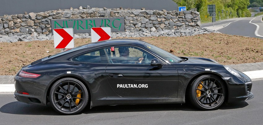 Upcoming Porsche 911 facelift to drop Carrera's naturally-aspirated flat-six for turbo power – reports Image #344345