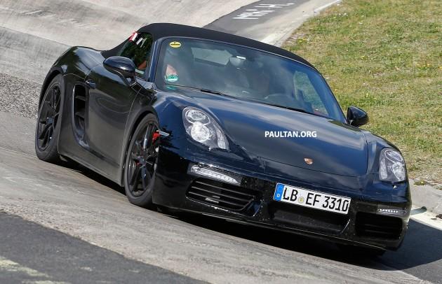 Porsche Boxster Facelift Spy-02