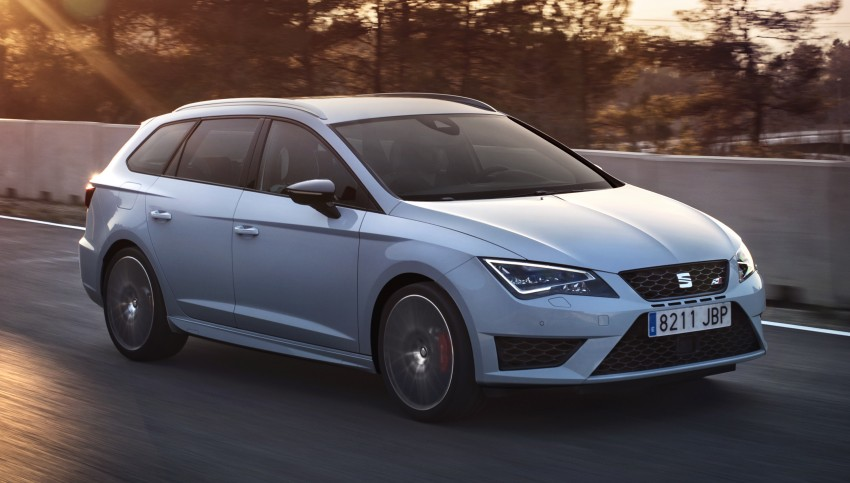 Seat Leon ST Cupra 280 – fastest estate on the 'Ring Image #339596
