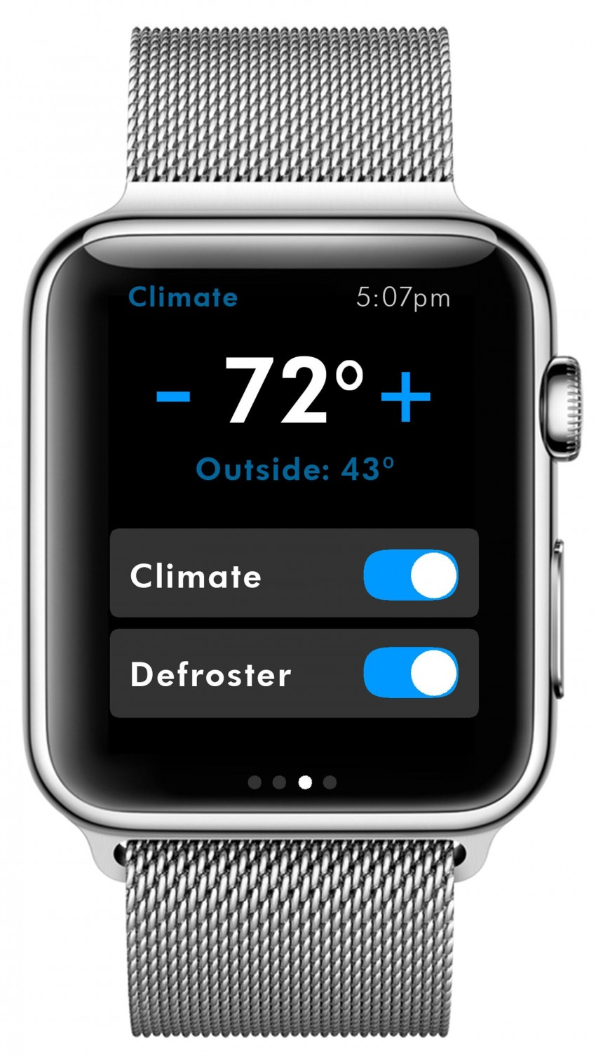 VW introduces Car-Net app for the Apple Watch Image #335488