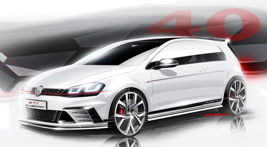 Volkswagen Golf GTI Clubsport teased ahead of debut Image #336850