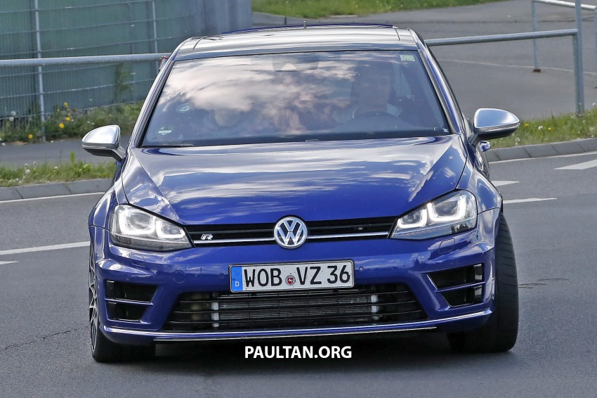 SPIED: Volkswagen Golf R 400 caught at the 'Ring Image #341126