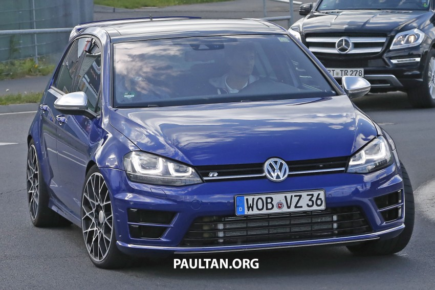 SPIED: Volkswagen Golf R 400 caught at the 'Ring Image #341127
