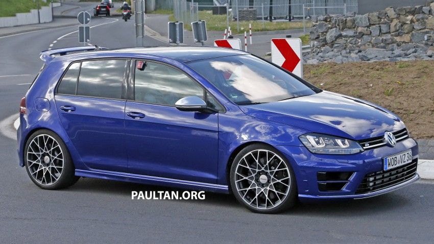 SPIED: Volkswagen Golf R 400 caught at the 'Ring Image #341130