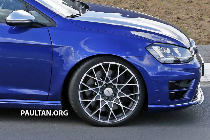 SPIED: Volkswagen Golf R 400 caught at the 'Ring Image #341132