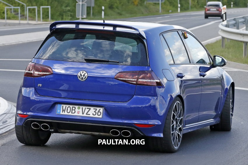 SPIED: Volkswagen Golf R 400 caught at the 'Ring Image #341135