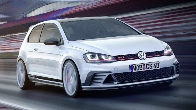 Volkswagen golf gti clubsport concept 01