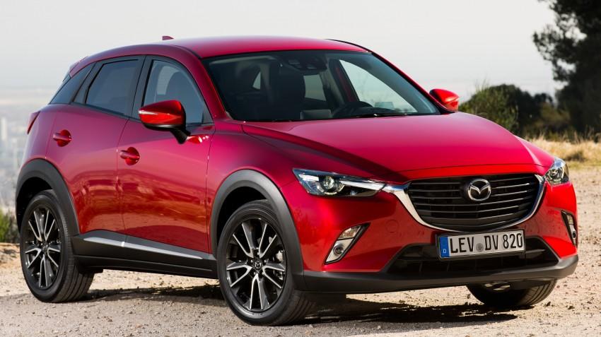 Mazda CX-3 ready to hit Europe – trims, mega gallery Image #343450