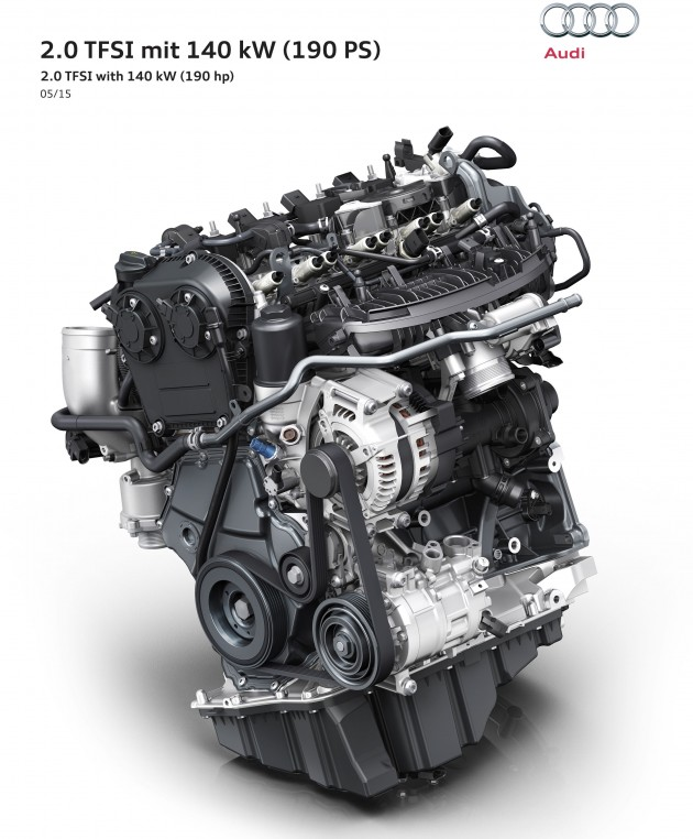 """B9 Audi A4 To Get New """"Miller Cycle"""" 2.0 TFSI Engine"""