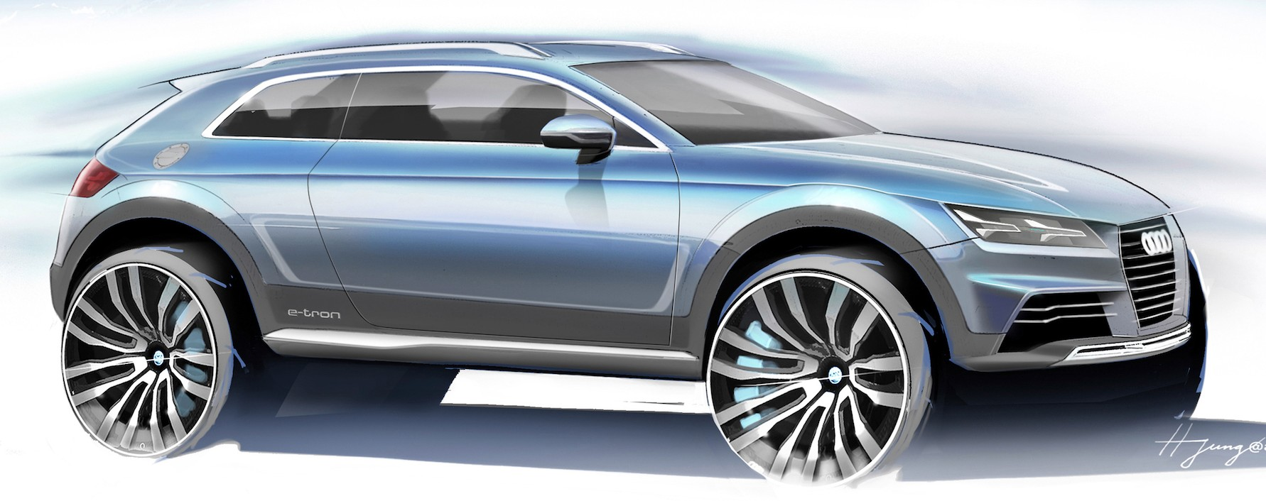 Back to Story: New Audi Q1, Q8 and sporty electric SUV confirmed