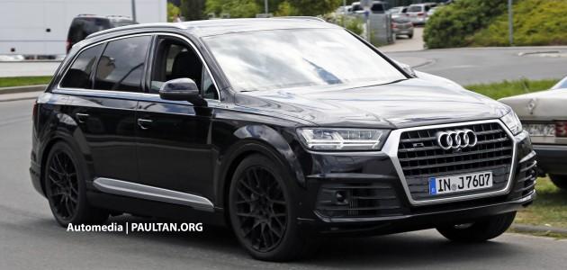 Audi SQ7 spyshots