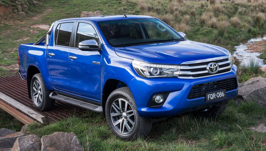 2016 Toyota Hilux – eighth-gen officially unveiled Image #341624