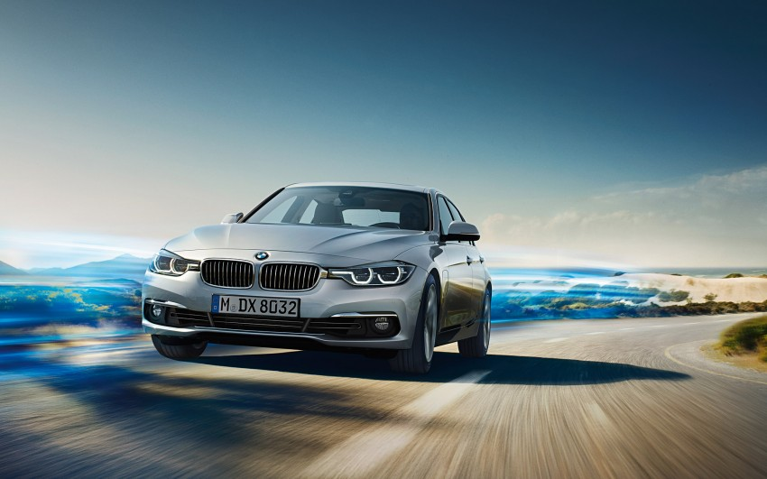 F30 BMW 3 Series LCI unveiled – updated looks, new engine lineup, 330e plug-in hybrid coming 2016 Image #343338