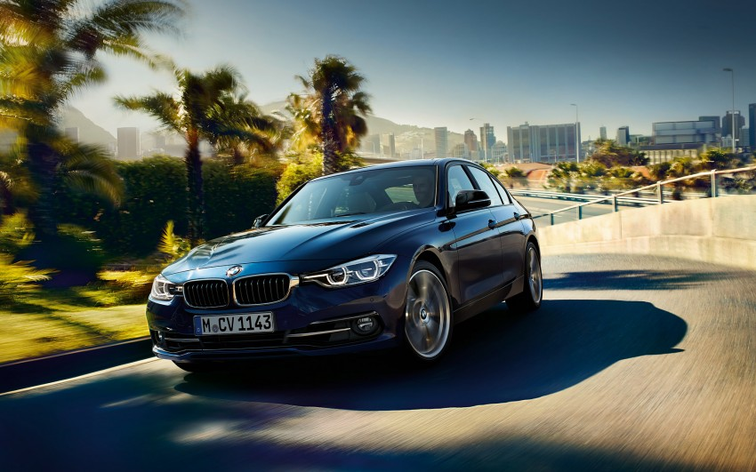 F30 BMW 3 Series LCI unveiled – updated looks, new engine lineup, 330e plug-in hybrid coming 2016 Image #343342