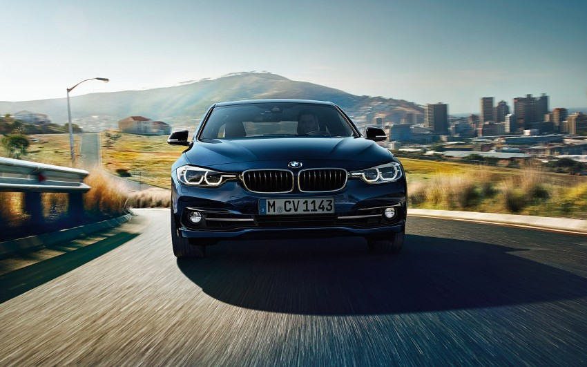 F30 BMW 3 Series LCI unveiled – updated looks, new engine lineup, 330e plug-in hybrid coming 2016 Image #343343