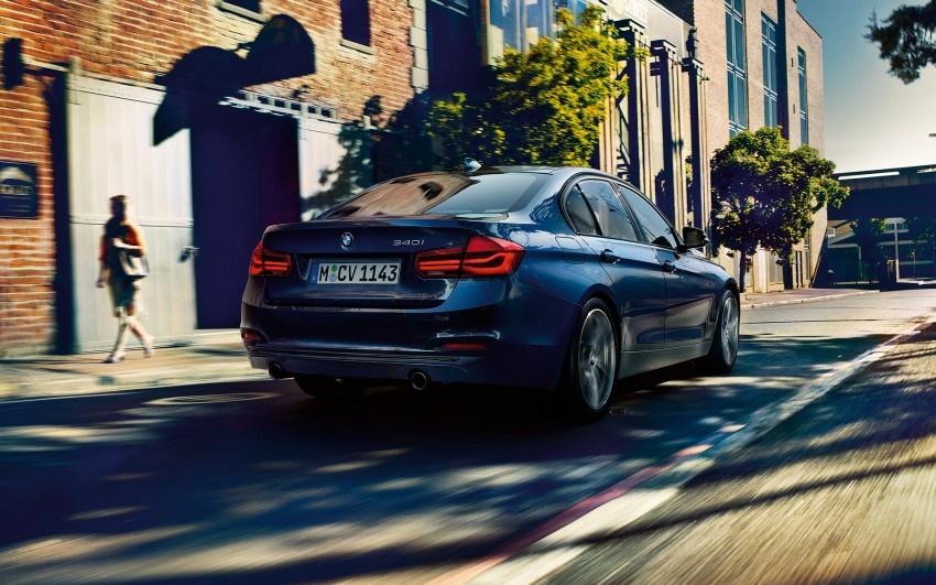 F30 BMW 3 Series LCI unveiled – updated looks, new engine lineup, 330e plug-in hybrid coming 2016 Image #343344