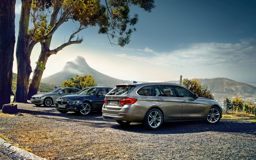 F30 BMW 3 Series LCI unveiled – updated looks, new engine lineup, 330e plug-in hybrid coming 2016 Image #343346