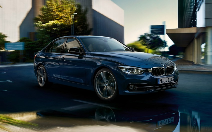F30 BMW 3 Series LCI unveiled – updated looks, new engine lineup, 330e plug-in hybrid coming 2016 Image #343348