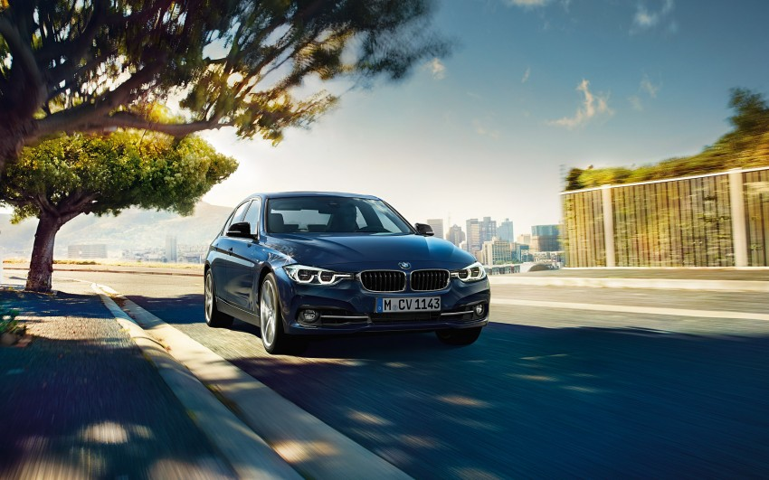 F30 BMW 3 Series LCI unveiled – updated looks, new engine lineup, 330e plug-in hybrid coming 2016 Image #343349