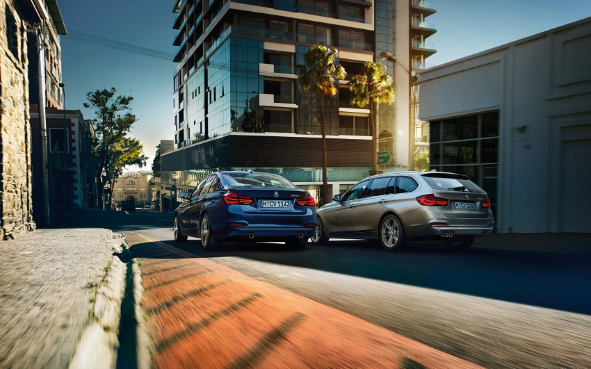 F30 BMW 3 Series LCI unveiled – updated looks, new engine lineup, 330e plug-in hybrid coming 2016 Image #343352