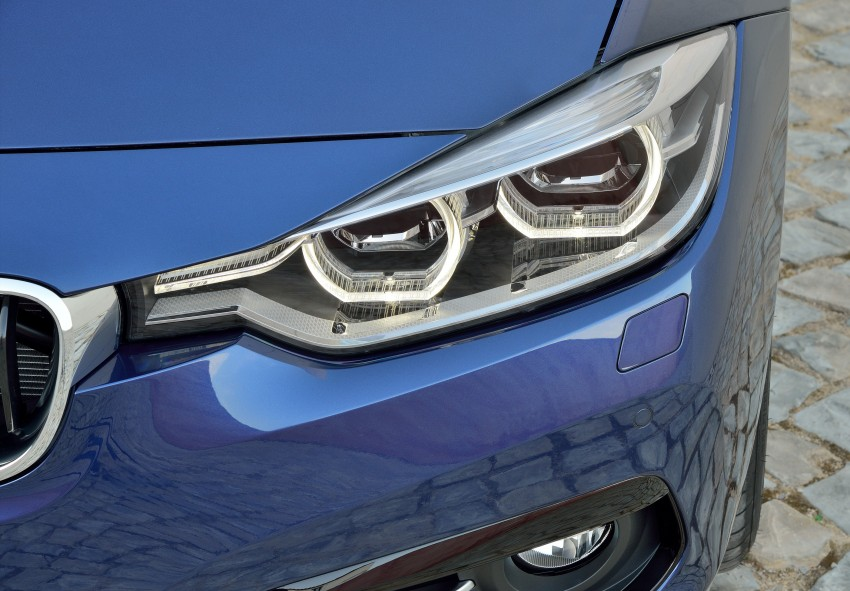 F30 BMW 3 Series LCI unveiled – updated looks, new engine lineup, 330e plug-in hybrid coming 2016 Image #336375
