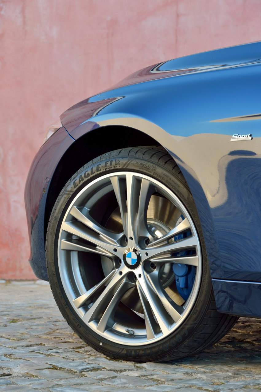 F30 BMW 3 Series LCI unveiled – updated looks, new engine lineup, 330e plug-in hybrid coming 2016 Image #336392