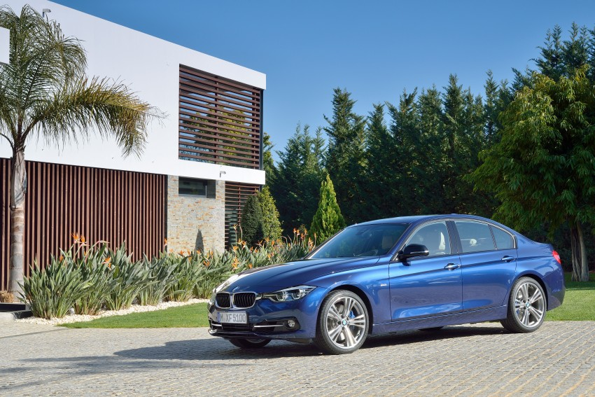 F30 BMW 3 Series LCI unveiled – updated looks, new engine lineup, 330e plug-in hybrid coming 2016 Image #336367