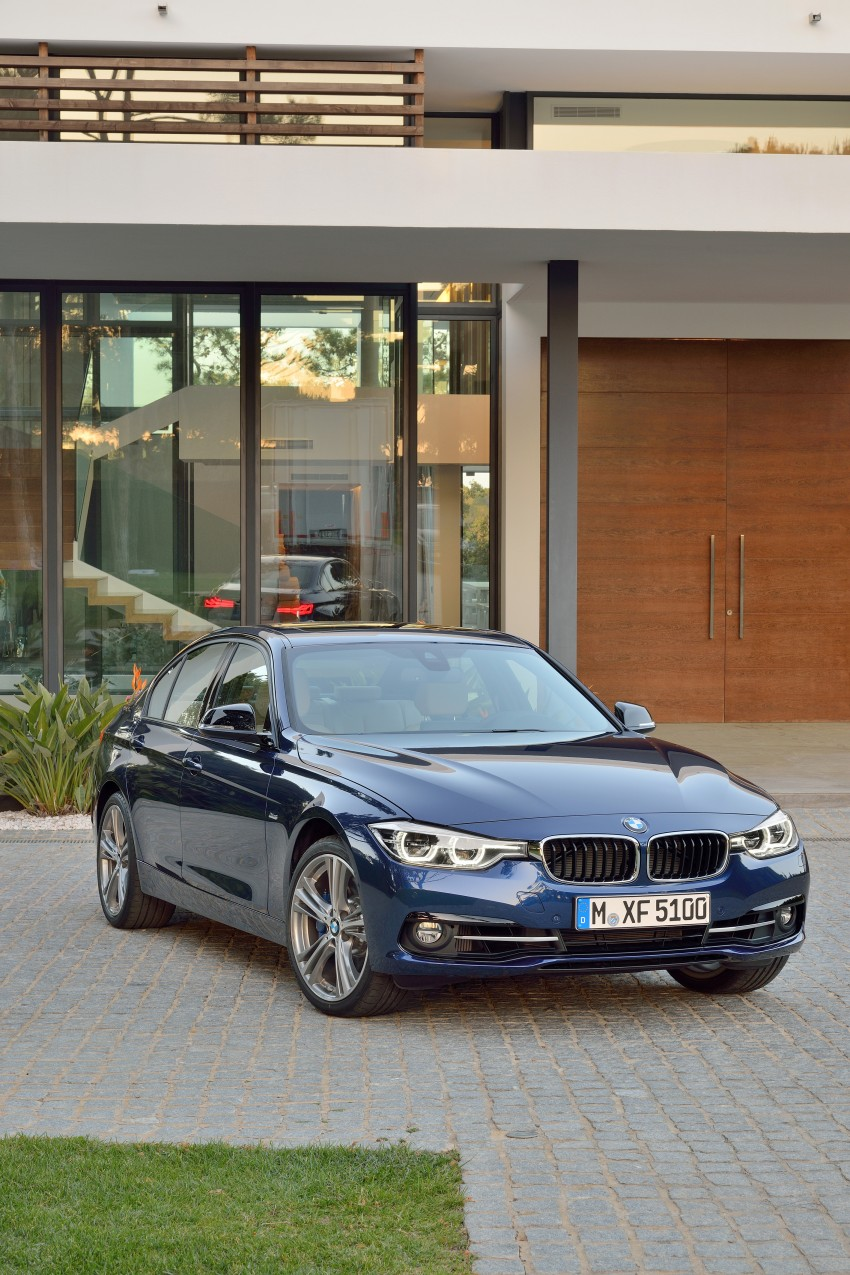 F30 BMW 3 Series LCI unveiled – updated looks, new engine lineup, 330e plug-in hybrid coming 2016 Image #336373