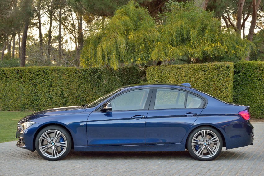 F30 BMW 3 Series LCI unveiled – updated looks, new engine lineup, 330e plug-in hybrid coming 2016 Image #336365