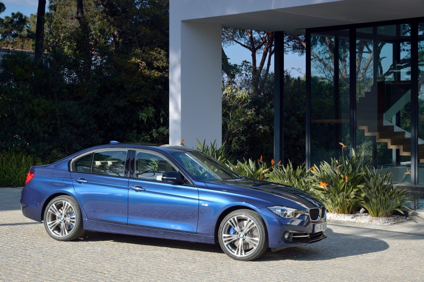 F30 BMW 3 Series LCI unveiled – updated looks, new engine lineup, 330e plug-in hybrid coming 2016 Image #336368