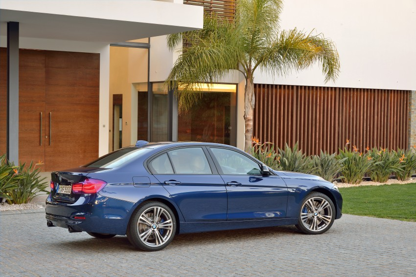 F30 BMW 3 Series LCI unveiled – updated looks, new engine lineup, 330e plug-in hybrid coming 2016 Image #336369